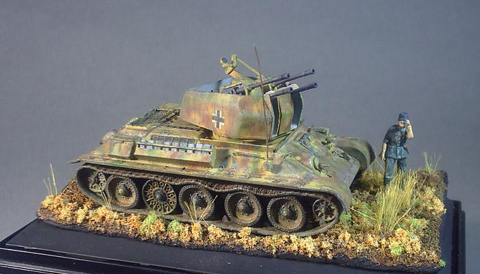 Flakpanzer T-34 Vignette