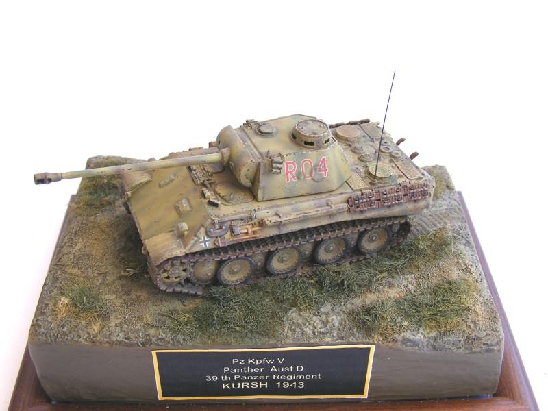 Pzkpfz V Panther Ausf D 39 Panzer Regiment Kursh 1943